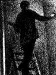 Artysta przy pracy Artist at work (1884) G.Seurat [Źródło zdjęcia].