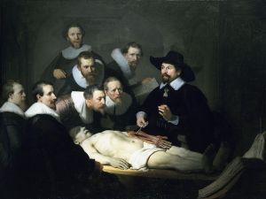 The_Anatomy Lesson, Lekcja anatomii dr Tulupa,  Rembrant, źródło zdjęcia