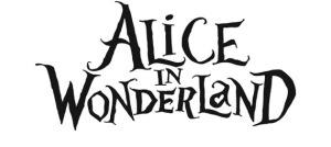 Logo filmu: Alicja w Krainie Czarów, Tim Burton 2010 rok, [źróło zdjęcia]