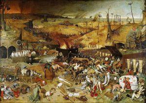 [Triumf śmierci, Peter Brugel Starszy, Muzeum Prado, źródło zdjęcia].