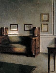 Vilhelm Hammershøi, Sonnige Stube, 1901