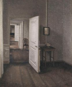 [Vilhelm Hammershøi- Die_vier Zimmer, 1914, źródło zdjęcia].
