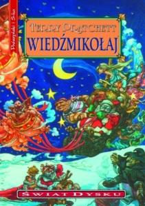 [Wieźmikołaj, Terry Pratchett, Świat Dysku tom 20, Pruszyński i S-ka, tłumaczenie: Piotr W. Cholewa, źródło zdjęcia].