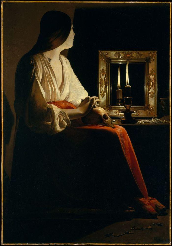 [Maria Magdalena, Georges de La Tour].